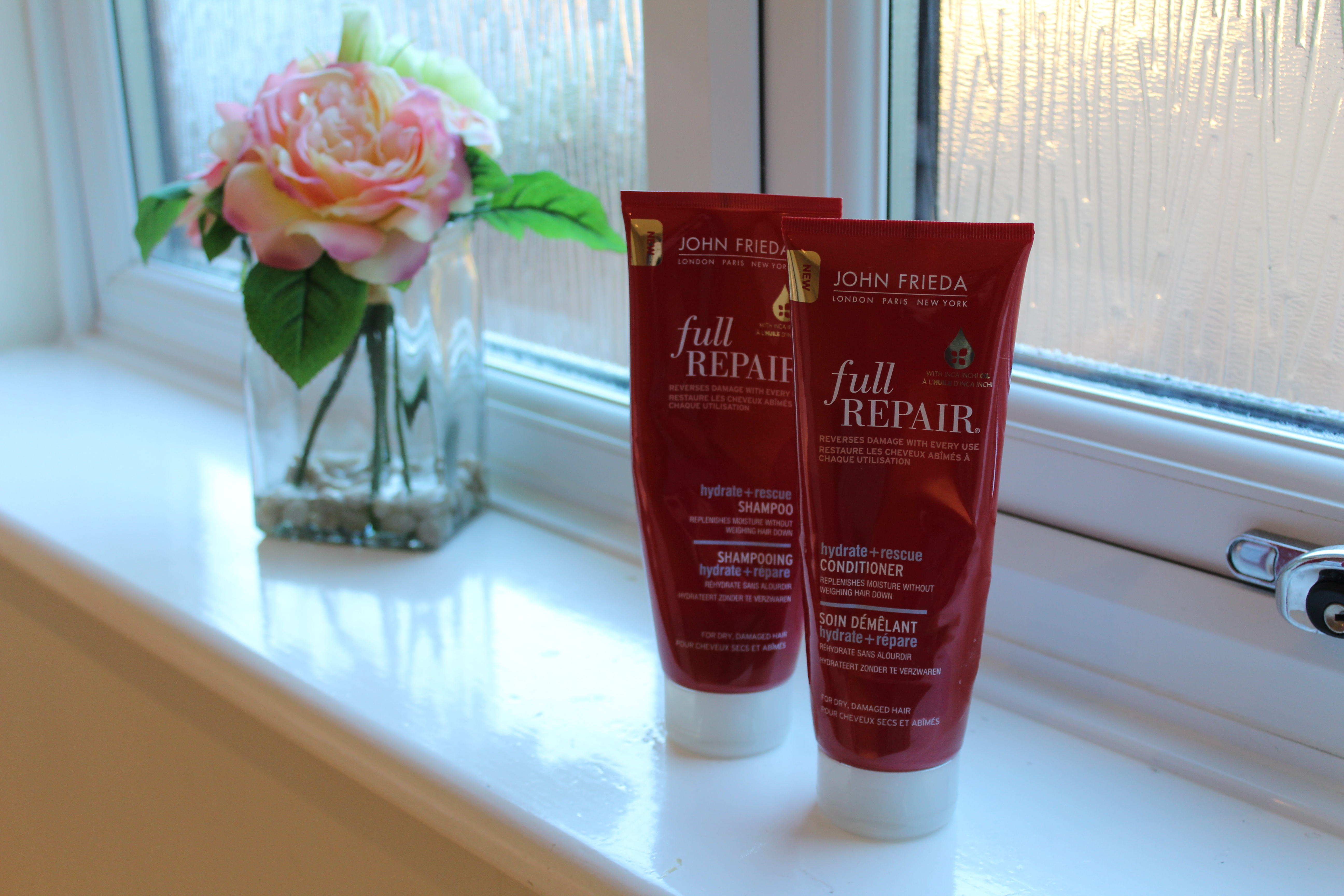 John Frieda ~ Full Repair | Hydrate & Rescue