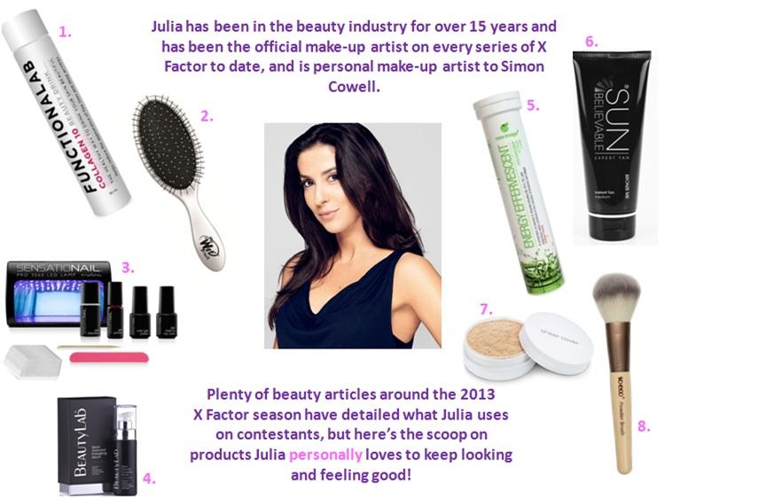 Exclusive: What's In Julia Carta's Makeup Kit?
