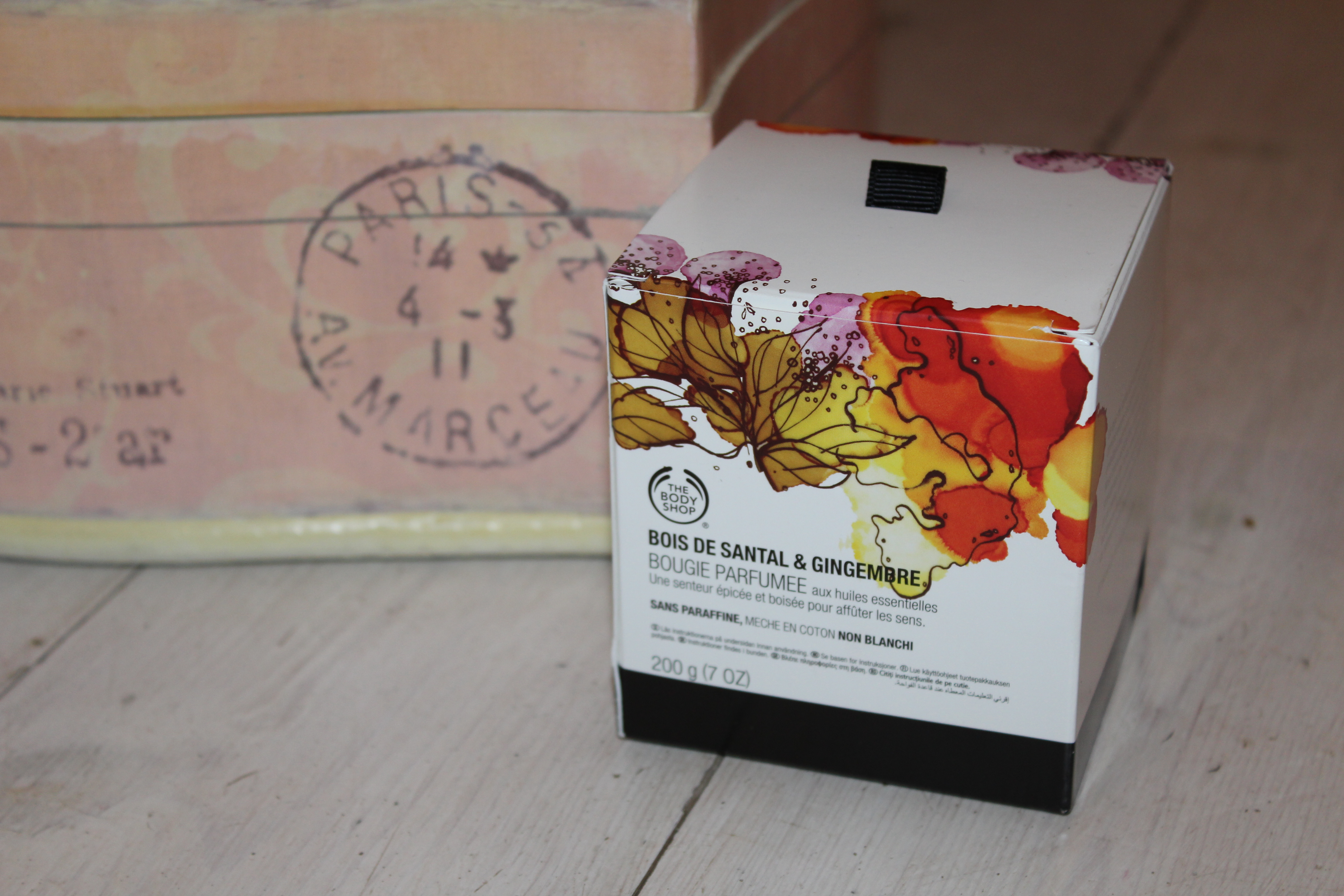 Sandalwood & Ginger Candle ~ The Body Shop*