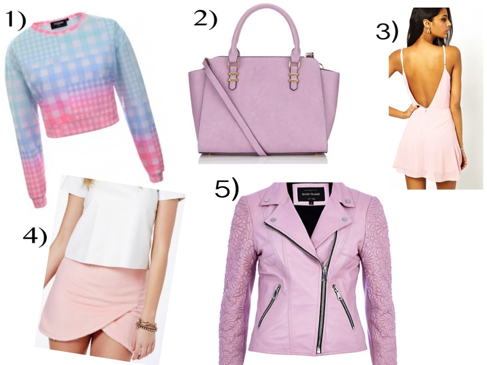 Top 5 Pastel Pink High Street Picks!