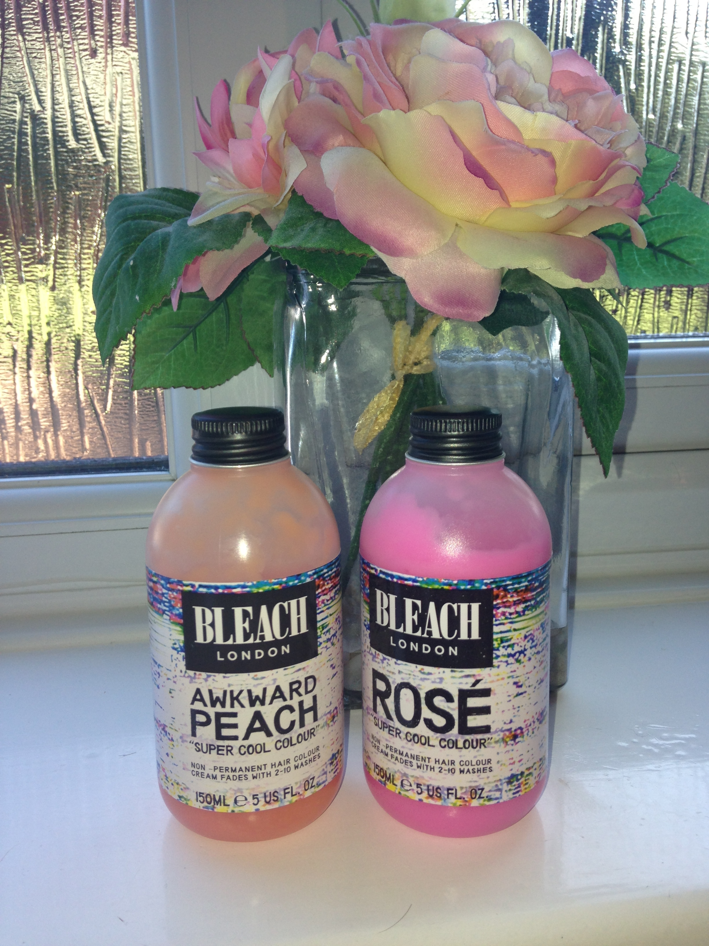 Bleach London Super Cool Colour Dye Review Awkward Peach Rose