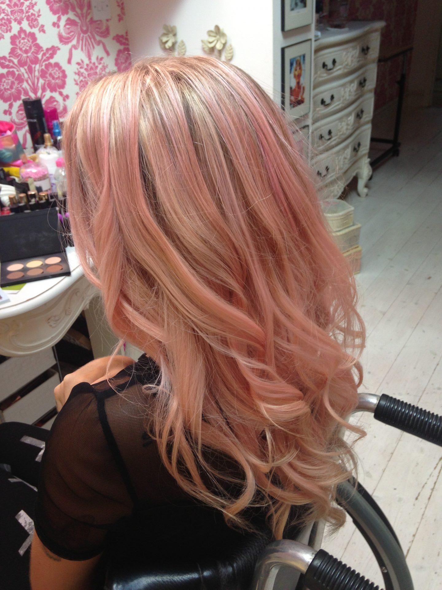 Bleach London Super Cool Colour Dye Review - Awkward Peach