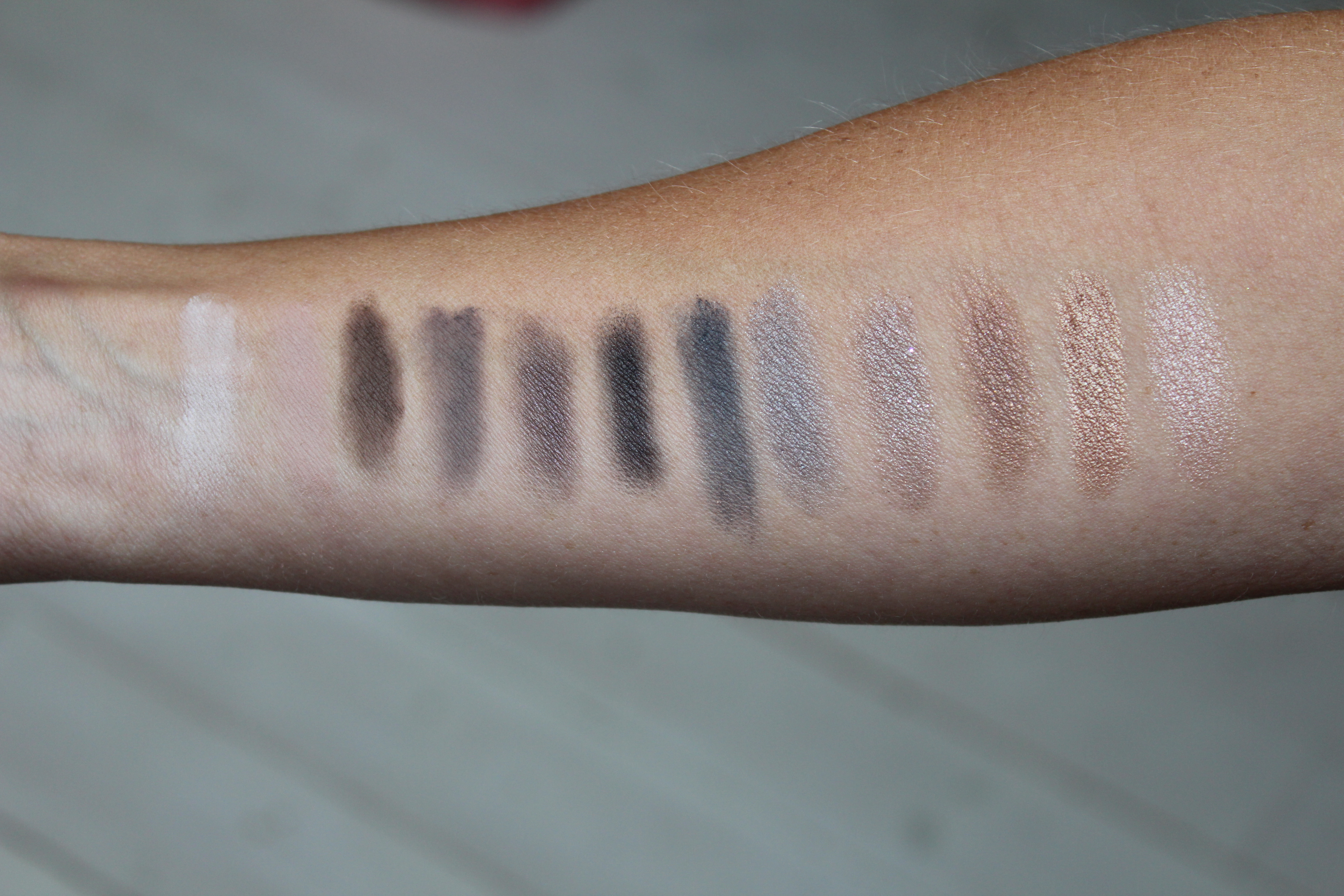 Urban Decay NAKED SMOKY Review, Swatches & Tutorial