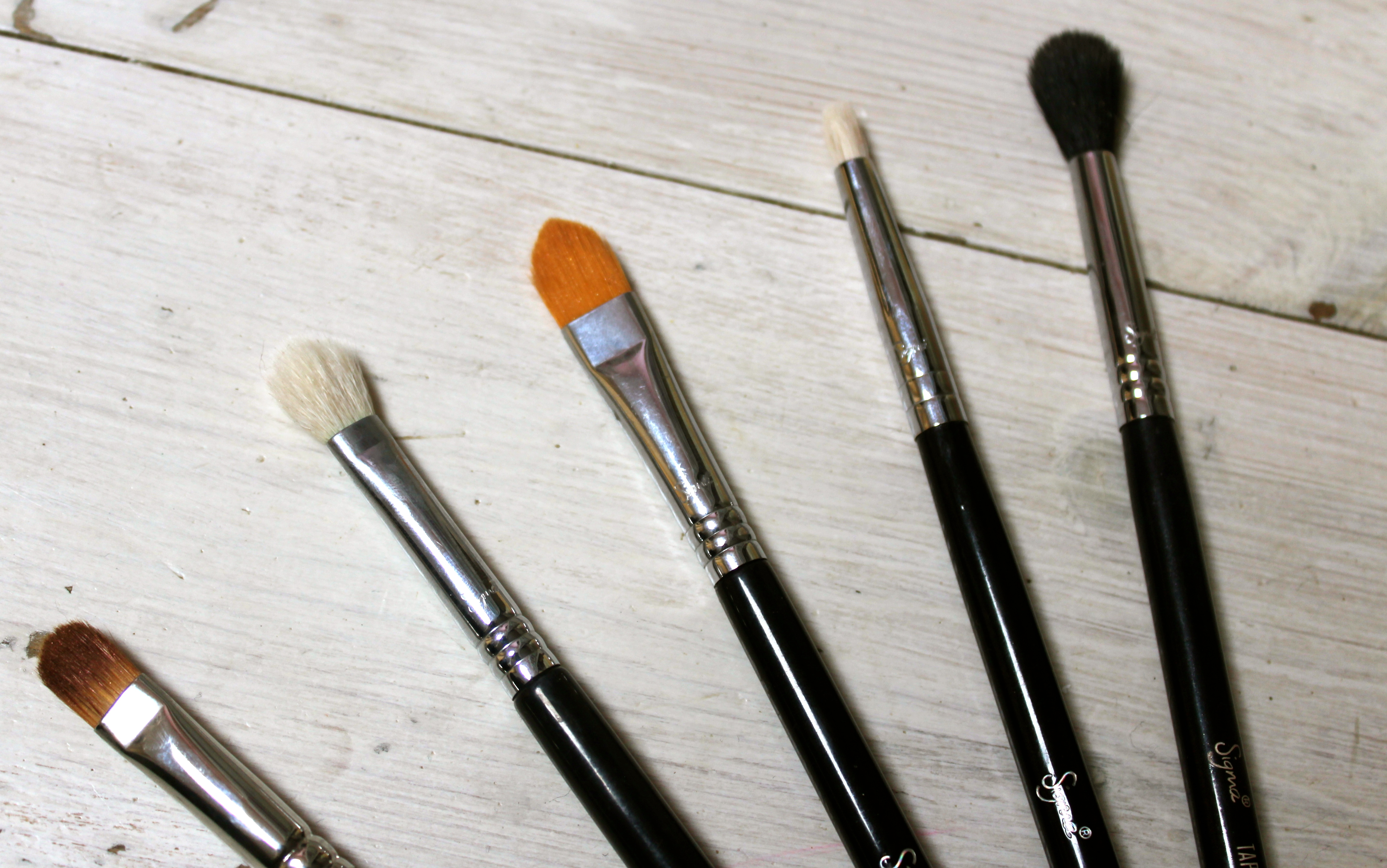 My Top 5 Must Have Eyeshadow Brushes