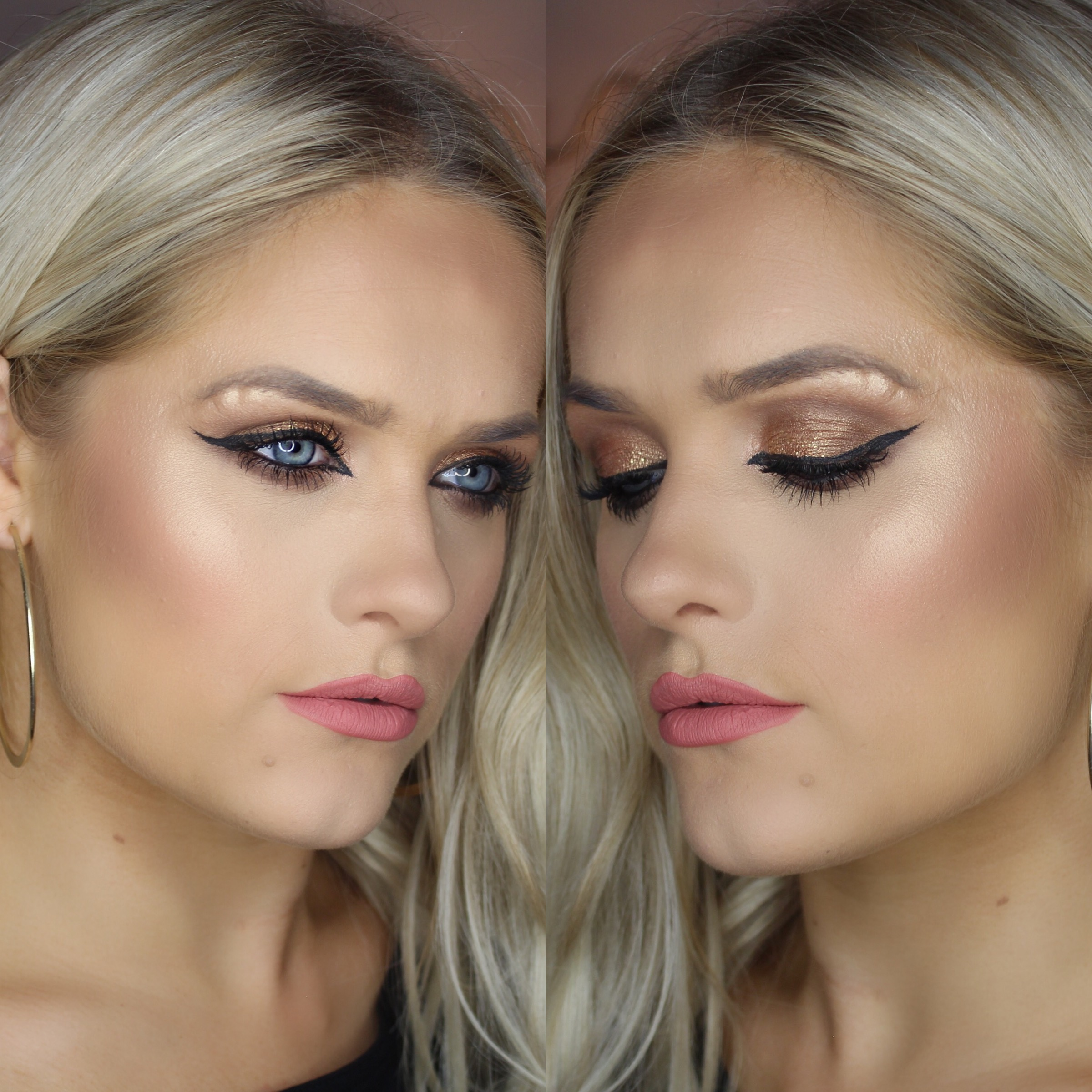 Golden Glow Makeup Tutorial Product List